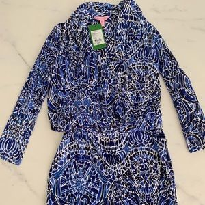 BRAND NEW Lilly Pulitzer Felizia Silk Dress XXS